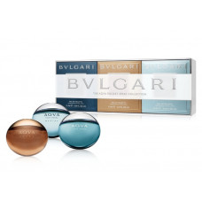 Набор Bvlgari The Aqva Pocket Spray Collection 3 x 15 ml